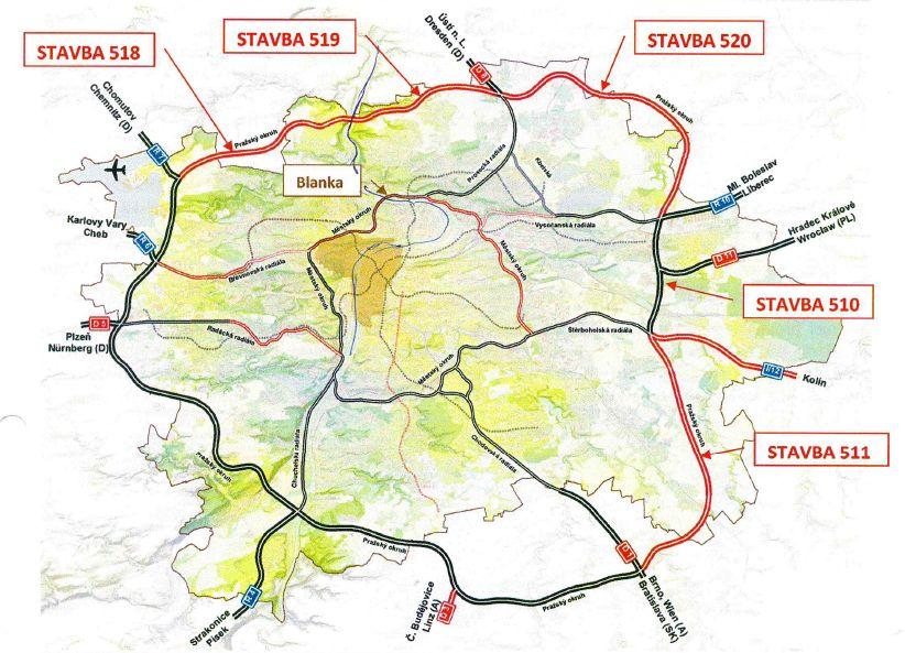 Boj O Tranzitni Prazsky Okruh Se Odehrava Na Mnoha Frontach Velmi